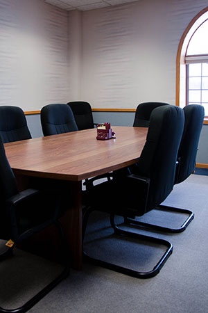 photo of Schmitt Title meeting room